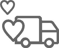 配達・回収サービスを利用し、諸経費を抑えリスクを軽減