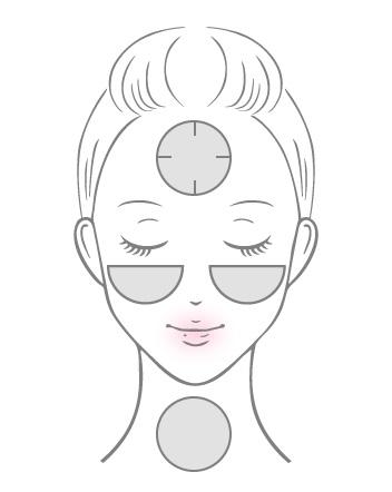 コットン紙シート層にローションを含ませてお肌を丁寧にマスク