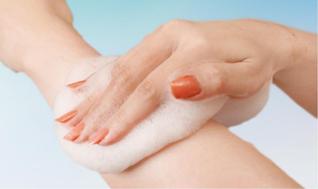 優しい泡が肌のうるおいを保ち、ベビーのような洗い上がりに